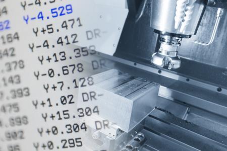 De CNC-machine en de NC-gegevensscène gebruiken een micro-snijproces met NC-gegevensweergave