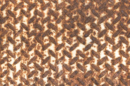 The rust on metal texture plate .Rust background. Stock Photo
