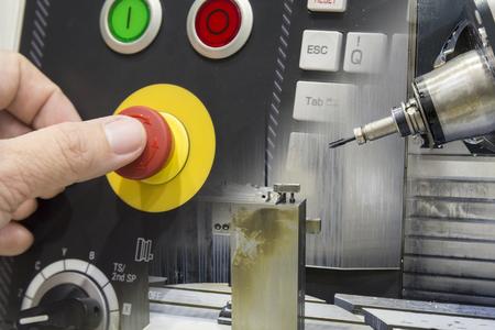 Zusammenfassung Szene Der Nahaufnahmen Der Draht - EDM CNC-Maschine ...