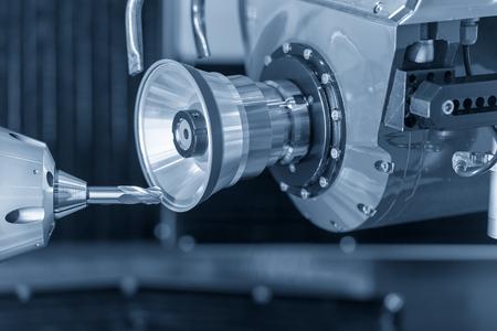 CNC-Schleifmaschinen zur Überholung oder Herstellung von Schaftfräswerkzeugen. Nachschleifmaschine für Schneidwerkzeuge.