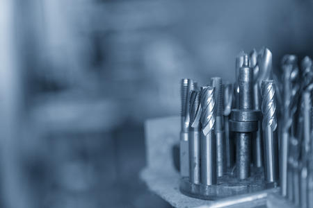 The group of cutting tool for CNC machine such as solid flat ,ball and radius endmill tool.The milling cutting tool and equipment.