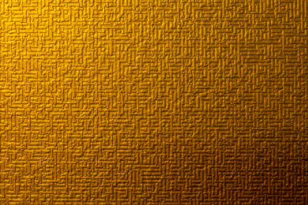 The golden strip like Chinese  style texture wallpaper background . The luxury wallpaper texture. 版權商用圖片
