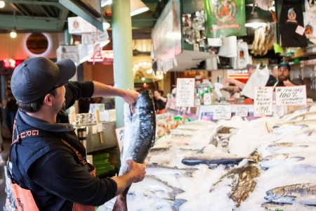 famous place: Pike Place Fish Market