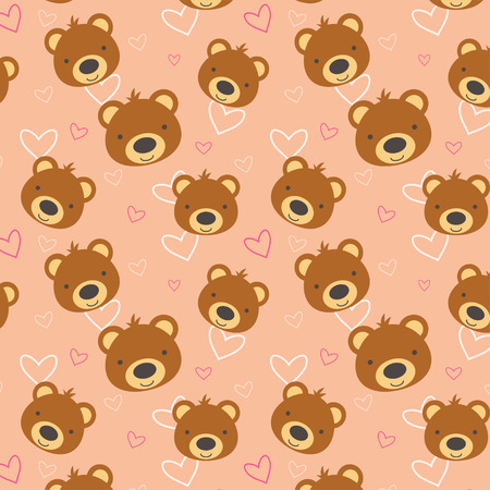 Teddy Bear Pattern Royalty Free Cliparts Vectors And Stock Amazing Bear Pattern