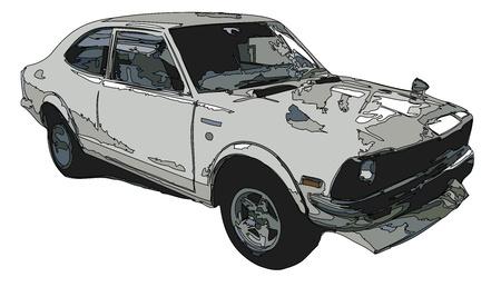 autosport: vector car Stock Photo
