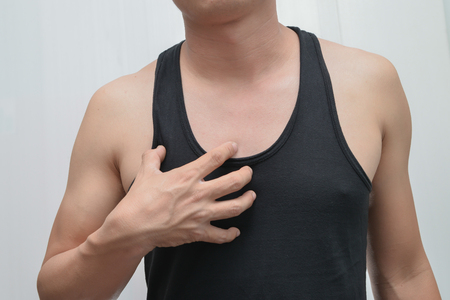 angina: Men have Chest pain - chest pain - a heart attack.