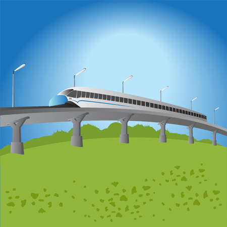 conveniently: High-speed commuter train