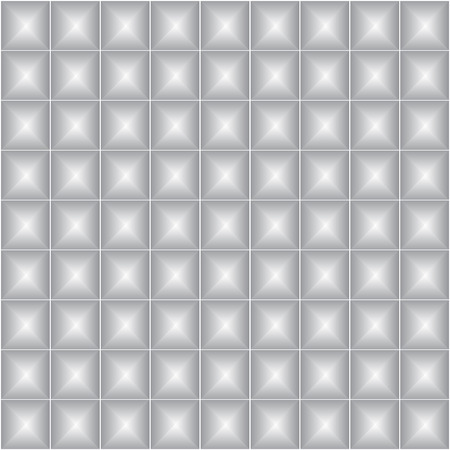 white and grey texture seamless, convex background. vector illustration Ilustrace