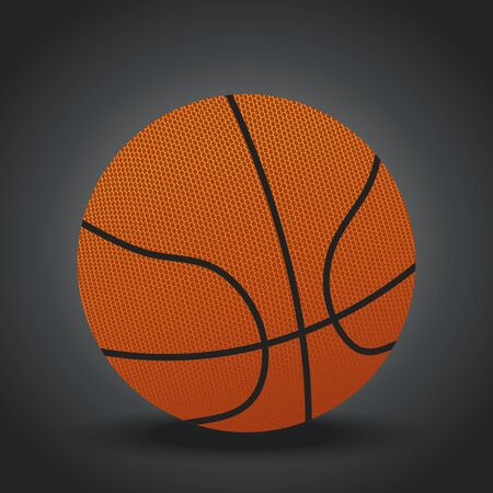 Basketball design Ilustrace