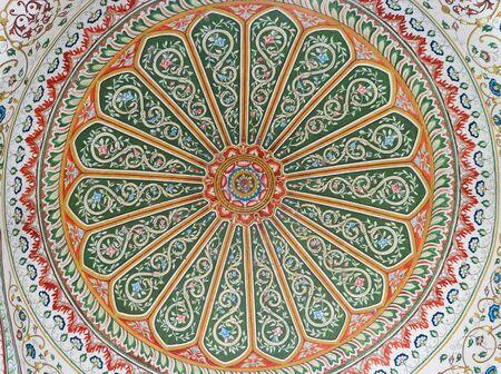 Art craft dome marble of Pinjore garden at Ambala-Shimla Highway, Pinjore, Chandigarh, Haryana, India