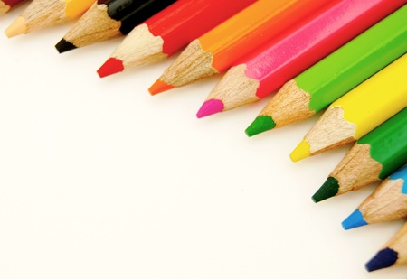 Curve Color Pencil Stock Photo - 8974092