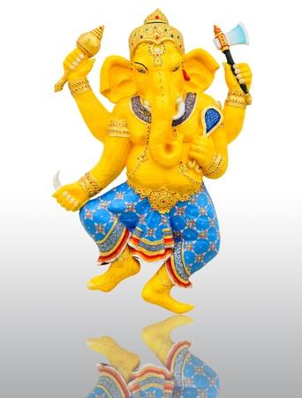 Ganesha, de God van Indische of Hindu Stockfoto