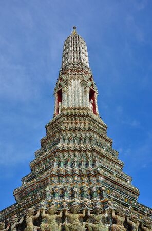 Pagoda of Wat Arun, Bangkok, Thailand  Stock Photo