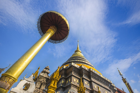 Pratat Lampang Luang Temple, Thailand  Stock Photo