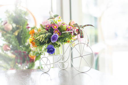 three wheeler: Three Wheeler Flower Bouquet