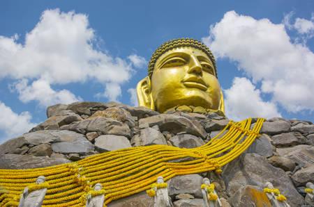 Golden Graet Buddha, Korea photo