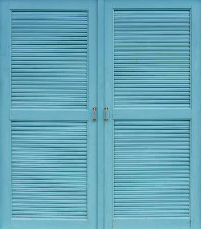 Wooden Cyans Door