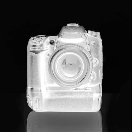 Digital Camera Through X-RAY Machine