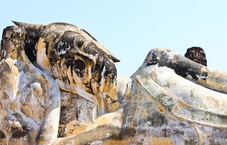 ayuttaya: Buddha statue