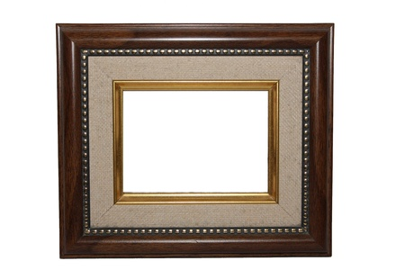 Wooden Picture Frame Stock Photo - 20396134