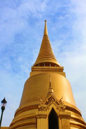 Golden  Pagoda at Wat  Phra  Kaew