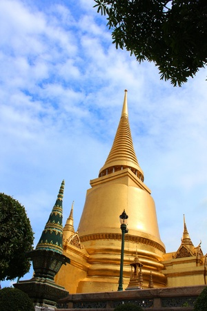 Pagoda in Wat Phra Kaew,Thailand photo
