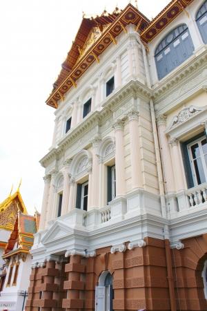 The Royal Grand Palace  Wat Phra Kaew  in Bangkok, Thailand Stock Photo