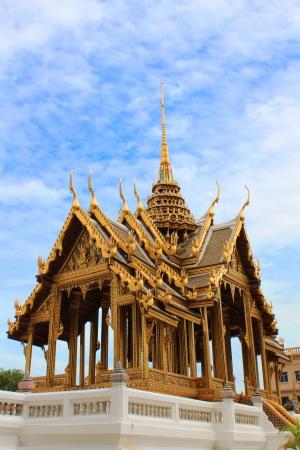 Phra Thinang Aphonphimok Prasat in the Grand Palace , Bangkok  Thailand