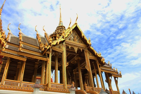 Phra Thinang Aphonphimok Prasat in the Grand Palace, Bangkok  Thailand photo