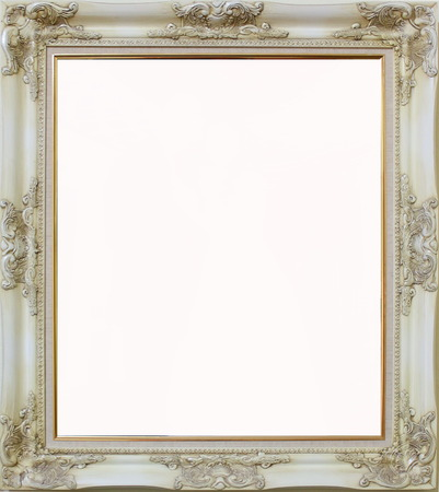 Louise  evory frame on white blackground
