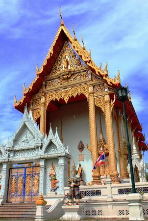 Bang Phai Temple at Nontaburi , Thailand Stock Photo - 24471118