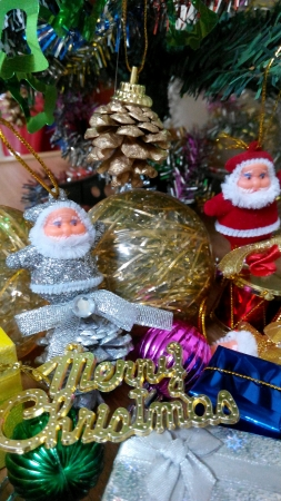 wish: Decorated Christmas Tree