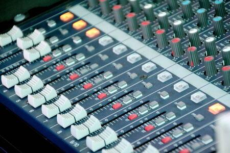 tablero de control: Sonido del panel de control del mezclador