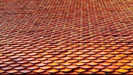 Thai temple roof detail