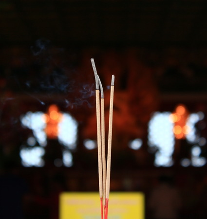 Incense burned for the sweet smell