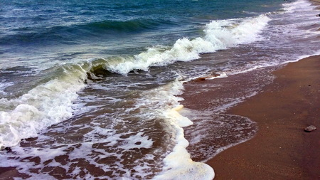 ?Beautiful surf in wildlife Stock Photo