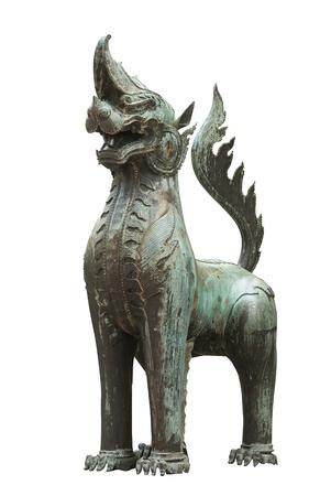 Bronze sculpture of Kodchasri at Emerald Temple Zdjęcie Seryjne
