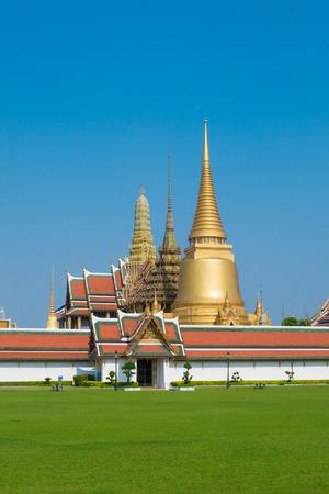 bangkok temple: Wat Phra Kaew in Bangkok, Temple of Emerald Buddha