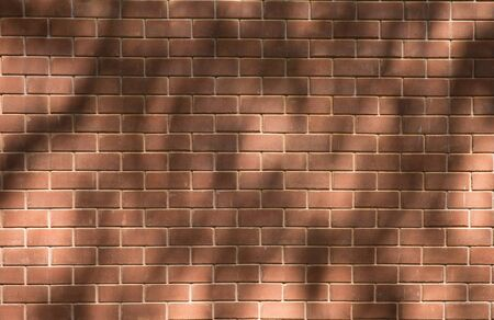 Pattern of brick with shadow