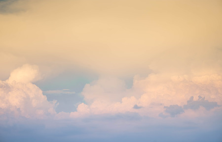 beautiful of abstract cumulustratus cloud in morning background for forecast and meteorology concept Reklamní fotografie