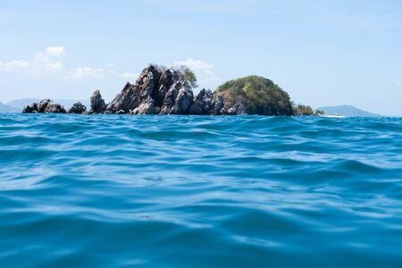 Khai Nok Island a small island in the Andaman Sea tourist destination near Phuket and Phang Nga Places for scuba divers