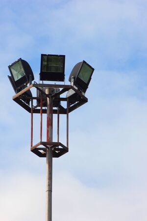 sportlights in the park Stock Photo - 17710106