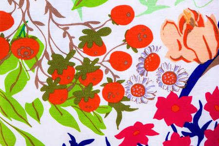 trendy: beautiful tropical pattern, trendy fabric print