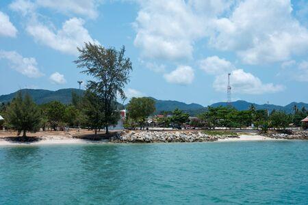 phangan: Thong Sala on Koh Phangan island, Thailand Stock Photo
