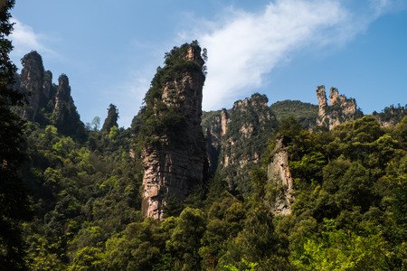 hunan: Zhangjiajie Wulingyuan National Park, Hunan, china