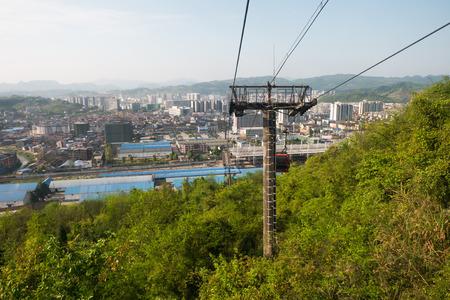 ropeway: Cable car ropeway to tianmen mountain zhangjiajie, china