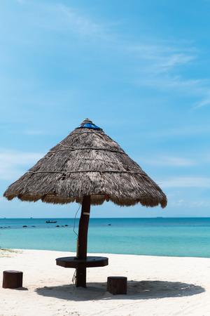 rin: Seascape at Haad Srithanu, Koh Pha Ngan, Thailand Stock Photo