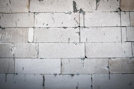 foamed: Foamed concrete block pattern background