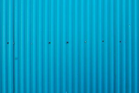 sheet metal: Light blue zinc wall, background, Metal sheet wall