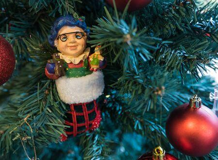 december: Christmas Decoration on December